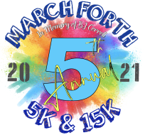 Virtual March Forth 5k and 15k Run