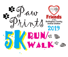 Paw Prints 5K and Fun 1-Miler