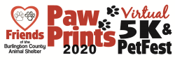 Paw Prints 5K Virtual Run/Walk