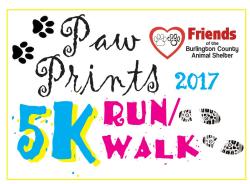 Paw Prints 5K and Fun Trail Walk