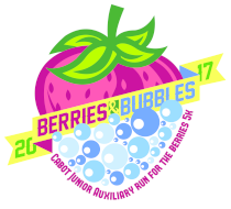 3rd Annual Junior Auxiliary Run for the Berries Bubble Run 5k and 1 Mile Fun Run
