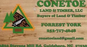 Conetoe Land & Timber, LLC