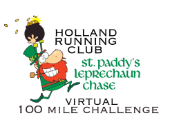St. Paddy's Virtual 100 Mile Leprechaun Chase Challenge