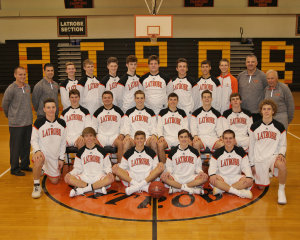 Greater Latrobe Boys Basketball Team