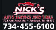 Nick's Auto Service and Tire
