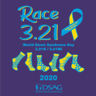 Race 3.21 for Down Syndrome Awareness/3.21K & 3.21Mi