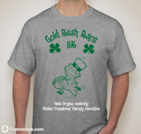 West Virginia University Occupational Therapy Gold Rush Race 5K