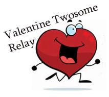Valentine Twosome Relay