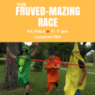 The Fruved-Mazing Race: UF Students - Form a Team, Test Your Mental & Physical Abilities, & Have Fun!