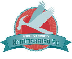 Habitat Hammerbird 5K and One Mile Fun Run