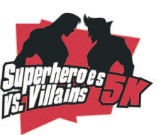 Super Heroes vs. Villains 5K
