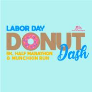 Labor Day Donut Dash 5k, Half Marathon & Munchkin Run