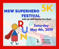 2019 MSW Superhero Festival with 5K and Family Fun Run!