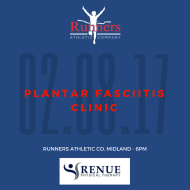 Plantar Fasciitis Clinic with Renue Physical Therapy