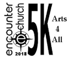 Encounter Arts 4 All 5k