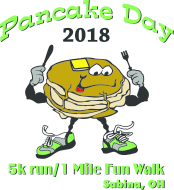 Pancake Day 5k Run/1 Mile Fun Walk