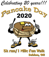 Pancake Day 5k Run/1 Mile Fun Walk
