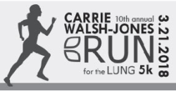 Carrie Walsh-Jones Run For the Lung 5K