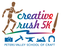 Creative Rush 5K Run/Walk presented by Peters Valley School of Craft