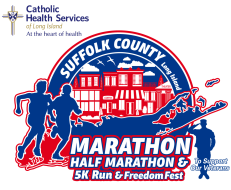 Catholic Health Services Suffolk County Marathon, Half Marathon, 5K and Four Person Marathon Relay