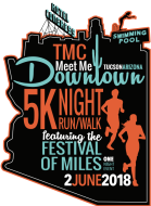 TMC Meet Me Downtown 5k Night Run/Walk and Festival of Miles