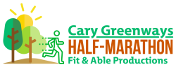 Cary Greenways Half-Marathon Logo