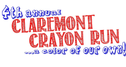 Claremont Crayon Run