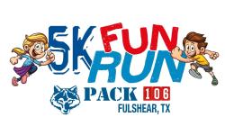 1st Annual 5k Fun Run Pack 106