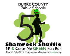 Shamrock Shuffle & Color Me Green Fun Run