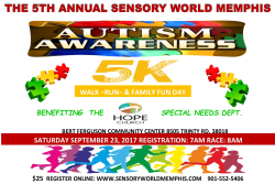 SENSORY WORLD 5TH ANNUAL 5K