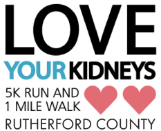 Love Your Kidneys Walk - Rutherford County