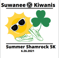 Suwanee Kiwanis - 1st Summer Shamrock Run (9th annual Shamrock)