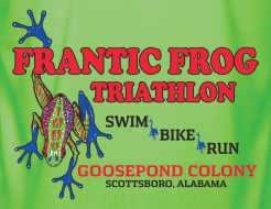 Frantic Frog Sprint Triathlon 2019