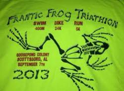 Frantic Frog Sprint Triathlon - 17th annual