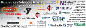 Silver & Bronze Sponsors