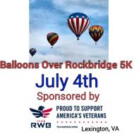 Balloons Over Rockbridge July 4th 5K