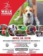 Brandywine Valley SPCA Walk For Paws and 5K Run-(DUE TO COVID-19, NOW A VIRTUAL RUN)
