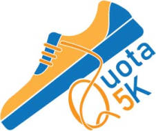 "Quota of Indiana 5k ""Running for the Gold"""