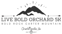 LIVE BOLD Orchard 5K at Bold Rock Carter Mountain