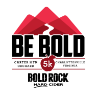BE BOLD Orchard 5K at Bold Rock - Carter Mountain