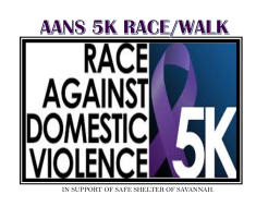 AANS Annual 5K Run/Walk Against Domestic Violence