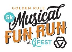 CANCELLED - Golden Rule Musical 5k at G-fest