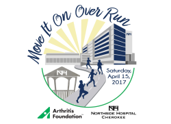 Move it on Over 4 Miler hosted by Arthritis Foundation