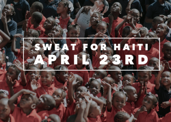 Yoga for Runners with Kim 4/23- SWEAT FOR HAITI