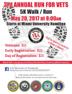 3rd Annual 5k for Veterans