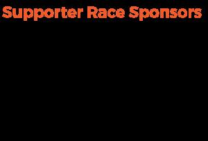 Supporter Race Sponsors
