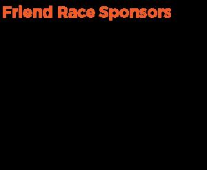 Friend Race Sponsors