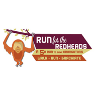 RUN for the REDHEADS 5K sponsored by the Ape Conservation Effort