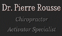 Dr. Pierre Rousse Chiropractor