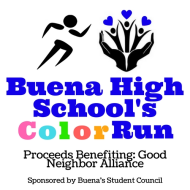 Buena High School Color Run